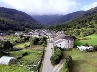 Eglise de Norgeat et Entrée du village (photo prise à partir d'une nacelle)  - Juil 2020 (GL)