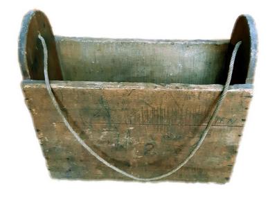 Cartable début du XX siècle - Miglos - Collection Aurèle Boulanger