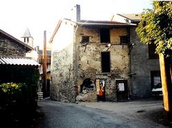 Ancienne maison Denjean - future Mairie (fév 1999-GL)