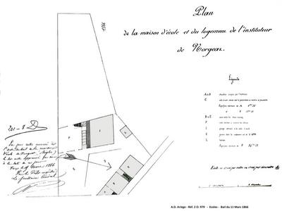 Ecoles - bail 11 mars 1866 - AD09 réf-2 O.979 width=